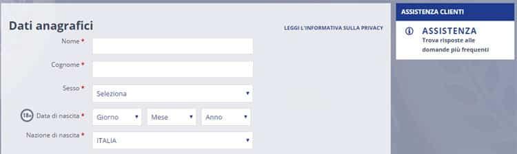 eurobet_registrazione