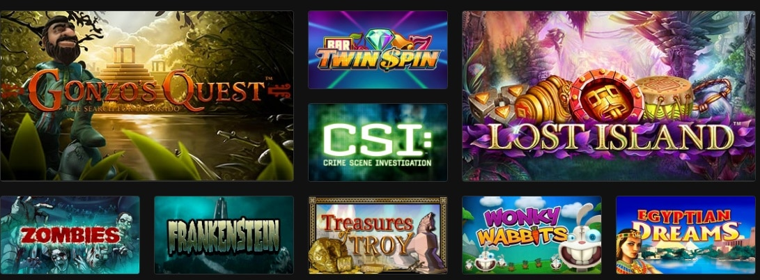 slot online disponibili sui casino AAMS