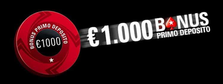 Bonus Pokerstars 1000