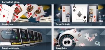 tornei e giochi su Betfair Poker