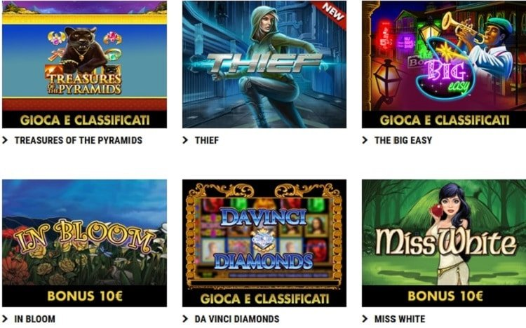 Better slot lottomatica online