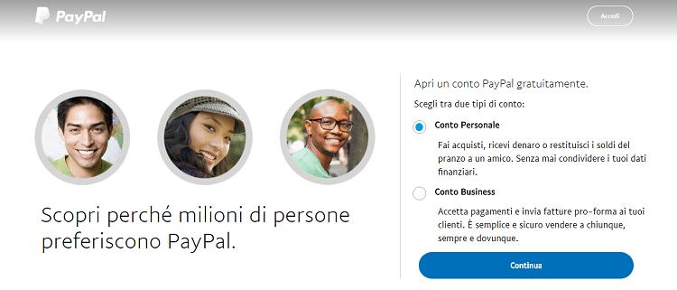 PayPal_registrazione