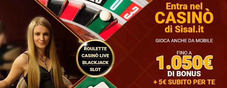 sisal_casino_bonus