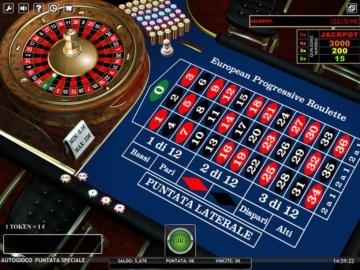 schermata di gioco della roulette su NetBet Casino