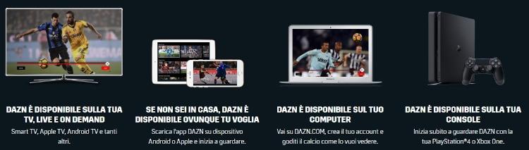 DAZN_app_compatibilità_dispositivi