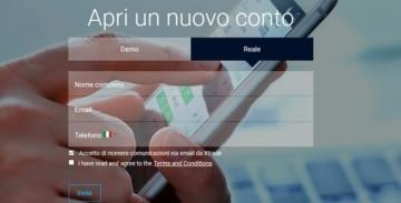 xtrade_guida_come_registrarsi