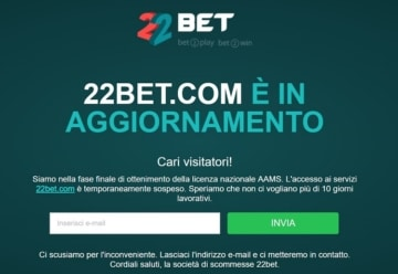 22bet_licenza_AAMS