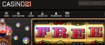 Casino21-Bonus