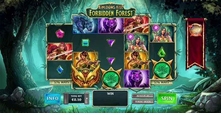 kingdoms_rise_forbidden_forest_slot