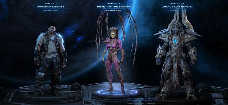 StarCraft 2-razze