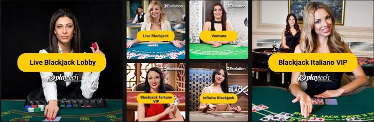 tavoli blackjack live su bwin casino