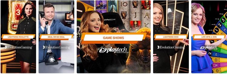 game shows gioco digitale casino