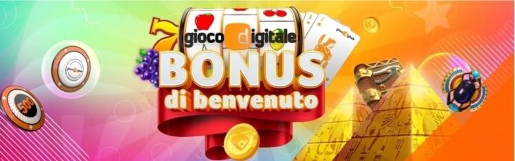 il bonus su gioco digitale casino