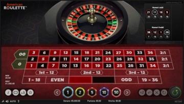 gioco della roulette sulla piattaforma Big Casino