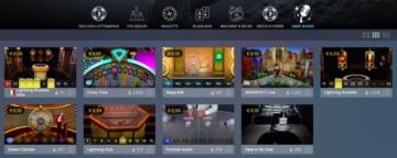 lobby di lottomatica casino live