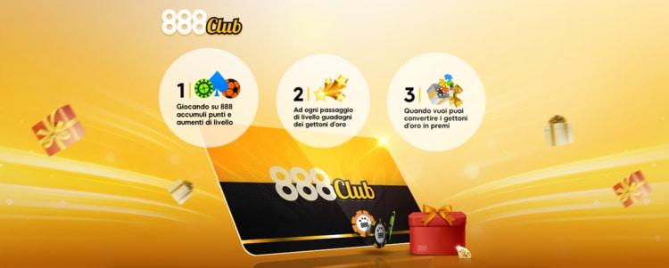 il programma VIP Club di 888casino