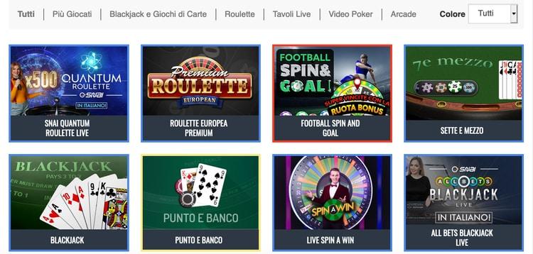 snai-casino-giochi