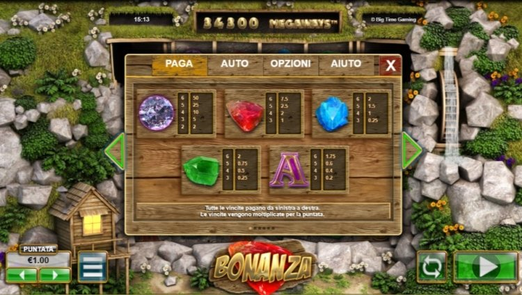 bonanza-megaways-slot-caratteristiche