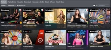 live casino planetwin365