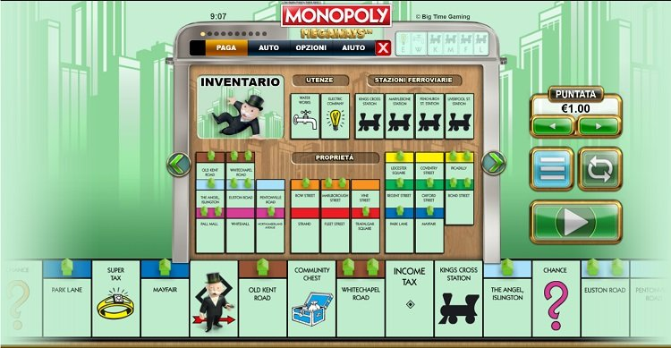 monopoly-megaways-slot-caratteristiche