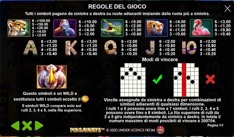 great_rhino_megaways_slot_caratteristiche