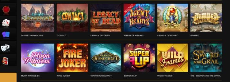 Videoslots slot machine